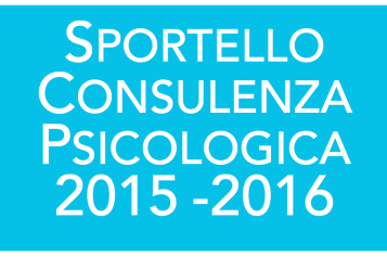 Sportello di consulenza psicologica 2015 – 2016