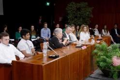 L'ARENA  14-05-2016 : «Ragazzi, indignatevi contro chi non rispetta le istituzioni»