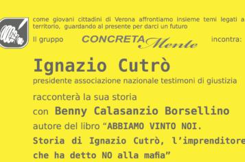 Sabato 18 giugno  il gruppo CONCRETAMENTE incontra : Ignazio Cutrò presidente associazione nazionale testimoni di giustizia
