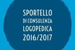 SPORTELLO DI CONSULENZA LOGOPEDICA 2016-2017