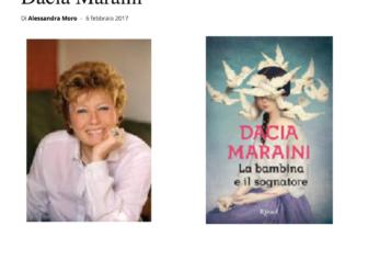 VERONA NEWS: La bambina e il sognatore: incontro con Dacia Maraini